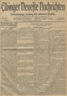 Elbinger Neueste Nachrichten, Nr. 353 Sonnabend 27 Dezember 1913 65. Jahrgang