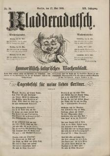 Kladderadatsch, 19. Jahrgang, 27. Mai 1866, Nr. 24