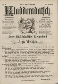 Kladderadatsch, 19. Jahrgang, 10. Juni 1866, Nr. 26