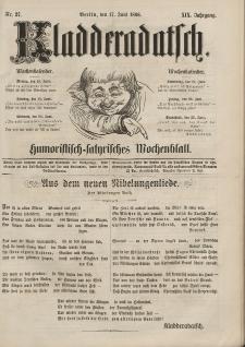 Kladderadatsch, 19. Jahrgang, 17. Juni 1866, Nr. 27