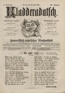 Kladderadatsch, 19. Jahrgang, 30. Juni 1866, Nr. 29/30