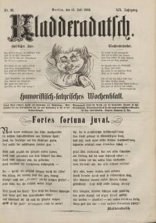 Kladderadatsch, 19. Jahrgang, 15. Juli 1866, Nr. 32