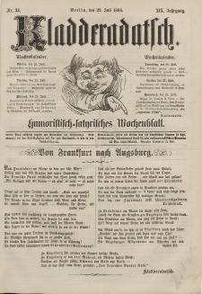 Kladderadatsch, 19. Jahrgang, 22. Juli 1866, Nr. 33