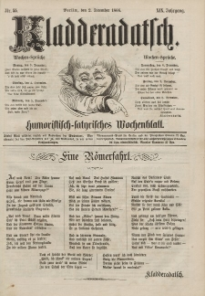 Kladderadatsch, 19. Jahrgang, 2. Dezember 1866, Nr. 55