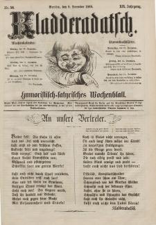 Kladderadatsch, 19. Jahrgang, 9. Dezember 1866, Nr. 56