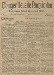 Elbinger Neueste Nachrichten, Nr. 357 Mittwoch 31 Dezember 1913 65. Jahrgang