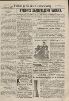 Kladderadatsch, 20. Jahrgang, 20. Januar 1867, Nr. 3 (Beiblatt)