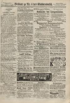 Kladderadatsch, 20. Jahrgang, 27. Januar 1867, Nr. 4 (Beiblatt)