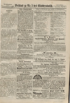 Kladderadatsch, 20. Jahrgang, 3. Februar 1867, Nr. 5 (Beiblatt)