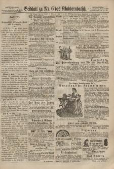 Kladderadatsch, 20. Jahrgang, 10. Februar 1867, Nr. 6 (Beiblatt)