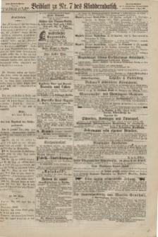 Kladderadatsch, 20. Jahrgang, 17. Februar 1867, Nr. 7 (Beiblatt)