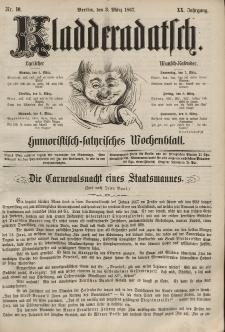 Kladderadatsch, 20. Jahrgang, 3. März 1867, Nr. 10
