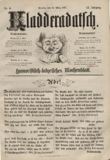 Kladderadatsch, 20. Jahrgang, 10. März 1867, Nr. 11