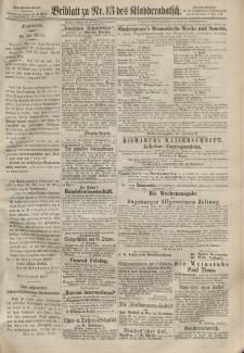 Kladderadatsch, 20. Jahrgang, 24. März 1867, Nr. 13 (Beiblatt)