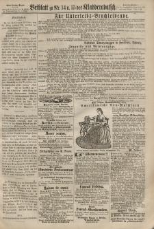 Kladderadatsch, 20. Jahrgang, 31. März 1867, Nr. 14/15 (Beiblatt)