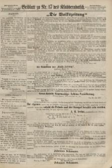 Kladderadatsch, 20. Jahrgang, 14. April 1867, Nr. 17 (Beiblatt)