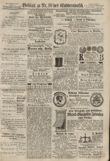 Kladderadatsch, 20. Jahrgang, 21. April 1867, Nr. 18 (Beiblatt)