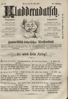Kladderadatsch, 20. Jahrgang, 19. Mai 1867, Nr. 22