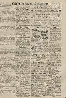 Kladderadatsch, 20. Jahrgang, 26. Mai 1867, Nr. 23/24 (Beiblatt)
