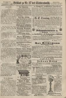 Kladderadatsch, 20. Jahrgang, 16. Juni 1867, Nr. 27 (Beiblatt)