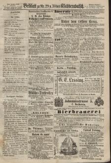 Kladderadatsch, 20. Jahrgang, 30. Juni 1867, Nr. 29/30 (Beiblatt)