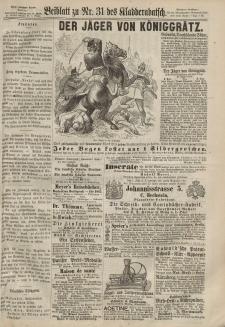 Kladderadatsch, 20. Jahrgang, 7. Juli 1867, Nr. 31 (Beiblatt)