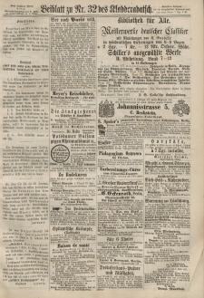 Kladderadatsch, 20. Jahrgang, 14. Juli 1867, Nr. 32 (Beiblatt)