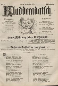 Kladderadatsch, 20. Jahrgang, 21. Juli 1867, Nr. 33