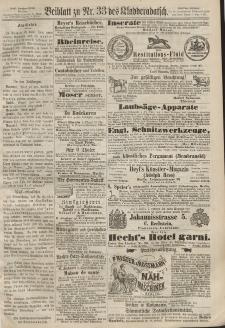 Kladderadatsch, 20. Jahrgang, 21. Juli 1867, Nr. 33 (Beiblatt)