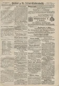 Kladderadatsch, 20. Jahrgang, 28. Juli 1867, Nr. 34 (Beiblatt)