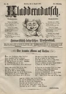 Kladderadatsch, 20. Jahrgang, 4. August 1867, Nr. 35