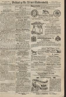 Kladderadatsch, 20. Jahrgang, 4. August 1867, Nr. 35 (Beiblatt)