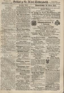 Kladderadatsch, 20. Jahrgang, 11. August 1867, Nr. 36 (Beiblatt)