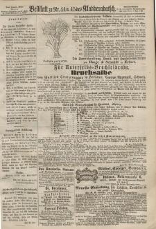 Kladderadatsch, 20. Jahrgang, 29. September 1867, Nr. 44/45 (Beiblatt)