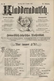 Kladderadatsch, 20. Jahrgang, 6. Oktober 1867, Nr. 46