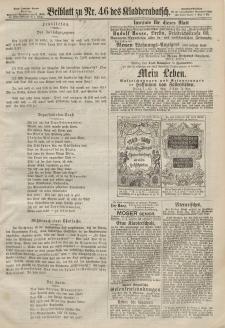 Kladderadatsch, 20. Jahrgang, 6. Oktober 1867, Nr. 46 (Beiblatt)