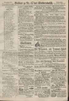 Kladderadatsch, 20. Jahrgang, 13. Oktober 1867, Nr. 47 (Beiblatt)