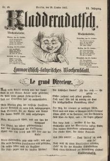 Kladderadatsch, 20. Jahrgang, 20. Oktober 1867, Nr. 48
