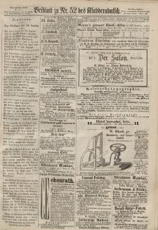 Kladderadatsch, 20. Jahrgang, 17. November 1867, Nr. 52 (Beiblatt)