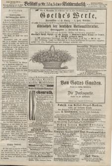 Kladderadatsch, 20. Jahrgang, 24. November 1867, Nr. 53/54 (Beiblatt)