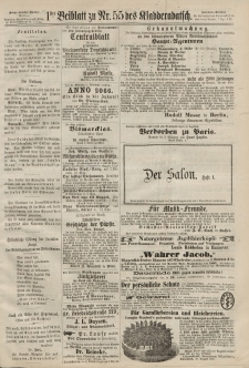 Kladderadatsch, 20. Jahrgang, 1. Dezember 1867, Nr. 55 (Beiblatt)