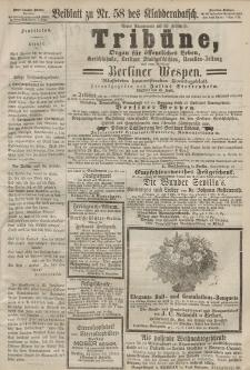 Kladderadatsch, 20. Jahrgang, 22. Dezember 1867, Nr. 58 (Beiblatt)
