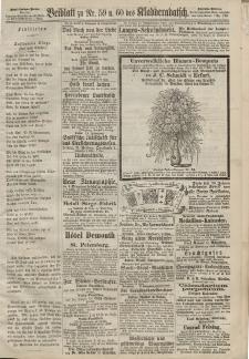 Kladderadatsch, 20. Jahrgang, 29. Dezember 1867, Nr. 59/60 (Beiblatt)