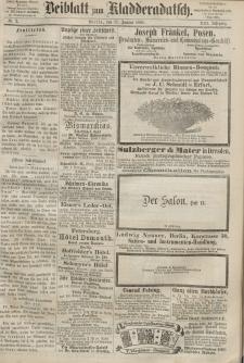 Kladderadatsch, 21. Jahrgang, 12. Januar 1868, Nr. 2 (Beiblatt)