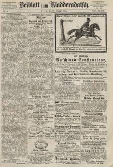 Kladderadatsch, 21. Jahrgang, 26. Januar 1868, Nr. 4 (Beiblatt)