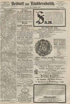 Kladderadatsch, 21. Jahrgang, 2. Februar 1868, Nr. 5 (Beiblatt)