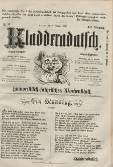 Kladderadatsch, 21. Jahrgang, 9. Februar 1868, Nr. 6