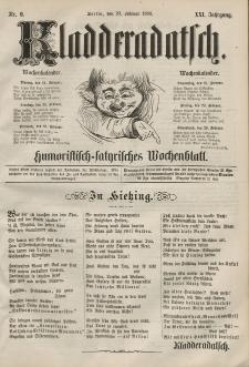 Kladderadatsch, 21. Jahrgang, 23. Februar 1868, Nr. 9