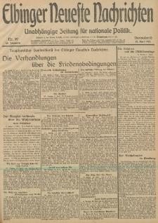 Elbinger Neueste Nachrichten, Nr. 99 Sonnabend 12 April 1913 65. Jahrgang