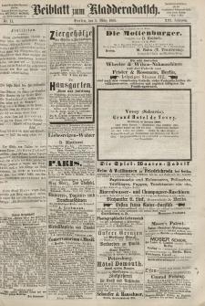 Kladderadatsch, 21. Jahrgang, 8. März 1868, Nr. 11 (Beiblatt)